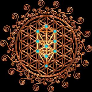 Blume des Lebens, Sephiroth, Kabbala, Lebensbaum