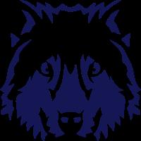 Wolf Tierkopf 15096