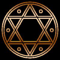 Siegel Salomons, Magische Sigille, Hexagramm,