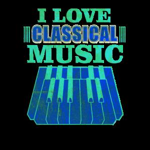 Ich liebe klassische Musik Komponist Geschenke
