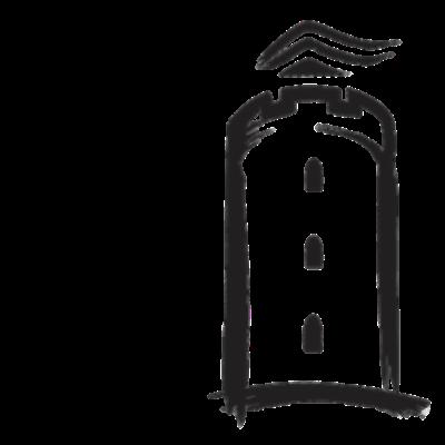 Bylanuel.de - LOGO - Die neue Marke Bylanuel leitet sich von der ältesten Bezeichnung Bielefelds Bylanuelde ab. Die ist das Logo der Marke Bylanuel. Das I ist in der Form der Sparrenburg. - Sparrenburg,Bylanuel,Bielefeld