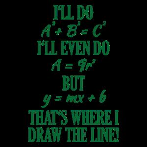 Grafik Mathematisch Mathe Spruch Geschenk