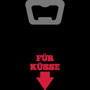 Flaschenöffner - Küsse