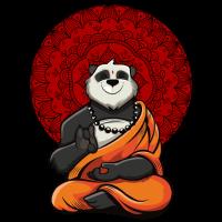 Panda Bear Zen Yoga Meditation Buddha
