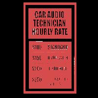 Car Audio Technician Hourly Rate KFZ Mechaniker