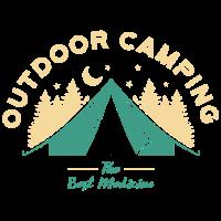 Camping im Freien