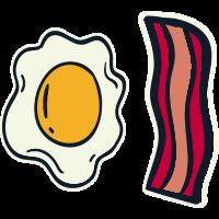 Ei und Speck