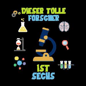 DIESER TOLLE FORSCHER IST SECHS