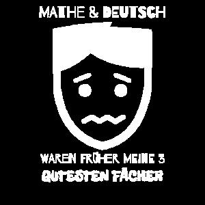 Mathe Witzig Deutsch Schule Schueler Geschenk