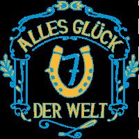 GLÜCKSBRINGER - Alles Glück der Welt | gelb-blau