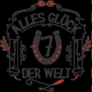 GLÜCKSBRINGER - Alles Glück der Welt | Rot-Schwarz