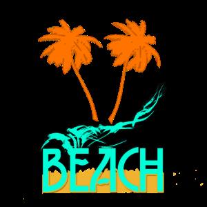 beach strand geschenk sand wellen wasser party fun