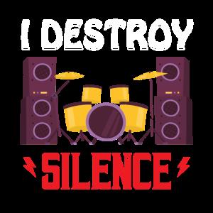 Ich zerstöre die Stille