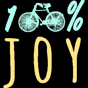 Spaß am Radfahren