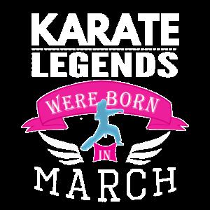 Karate-Legenden werden im März Mädchen geboren