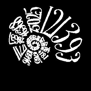 Fibonacci Sequence Spiral Design für Männer & Frauen
