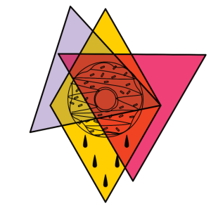 Geometrisch Donut