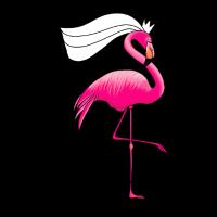 Braut Flamingo