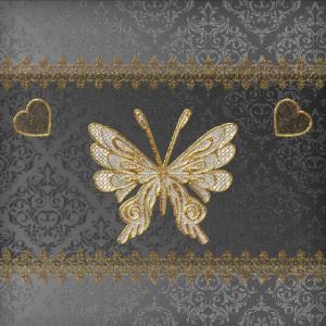 Elegante dekorative Schmetterlinge