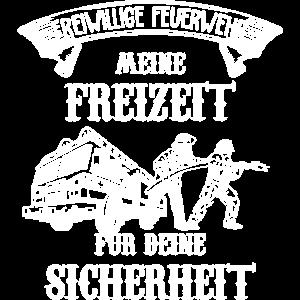 Feuerwehrmann Shirt · Meine Freizeit · Geschenk
