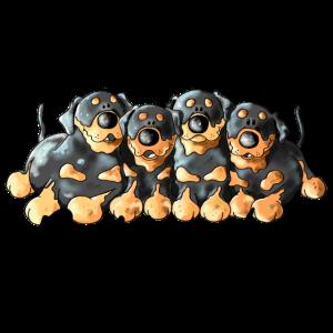 Rottweiler Quartett - Hund