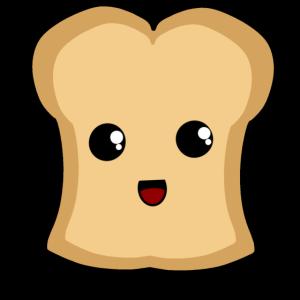 Toast Essen Süß putzig nett schlicht Comic
