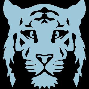 Tiger Tierkopf 15 8