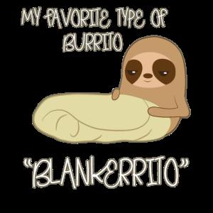 Faultier Burrito