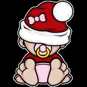 Baby Girl Mädchen Weihnachten