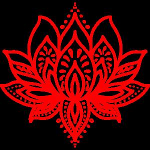 Lotus tattoo rot
