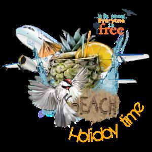 """Urlaubsshirt - Holiday - """"travelcontest"""""""