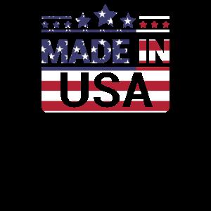 Made in USA, Vintage, US Flag, Stars & Stripes