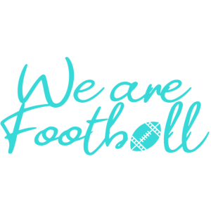 we are football / wir sind football