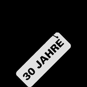 30 Jahre Geburtstag