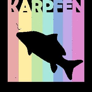 Vintage Karpfen Retro Angler Design