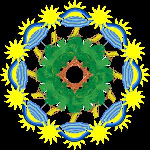 Urlaub Sommer Mandala Travelcontest