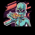 Beste Alien Pizza Design online