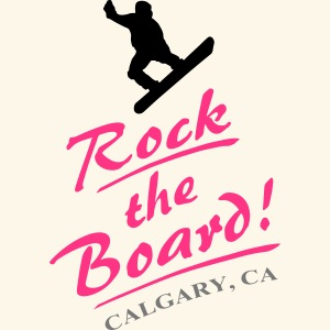 Rock the Board - Snowboarder