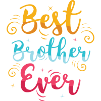 Best Brother Ever - Bruder Schwester Spruch