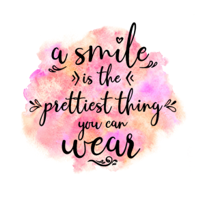 Smile, Lächeln