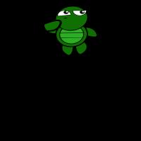 schildkröte wortspiel black