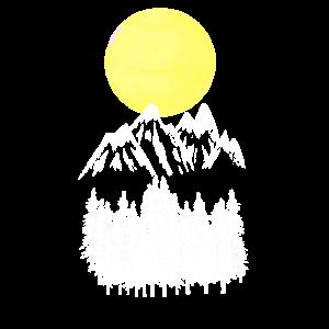 Gebirge Schnee Mountains Natur Naturfreund