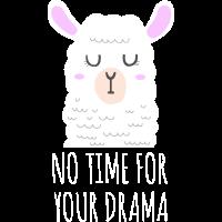 Llama Llamacorn Unicorn Alpaca Drama Lama