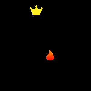 King of the Grill BBQ Geschenk Geschenkidee