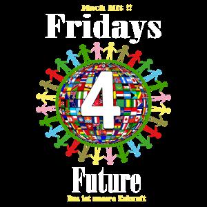 Fridays For Future demo t shirt es gibt nur eine