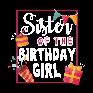 Schwester des Geburtstagsmädchens