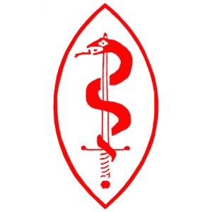 School of Mars Crest (Red)