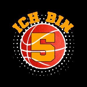 5. Geburtstag Basketball Sport Geschenk