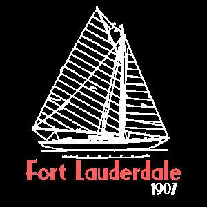 Fort Lauderdale 1907 Segeln-T-Shirt