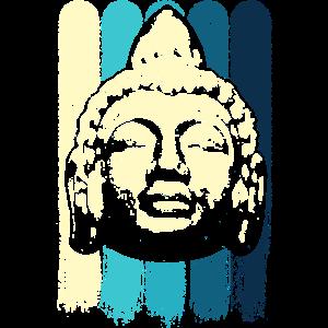 buddha Head Spirituell